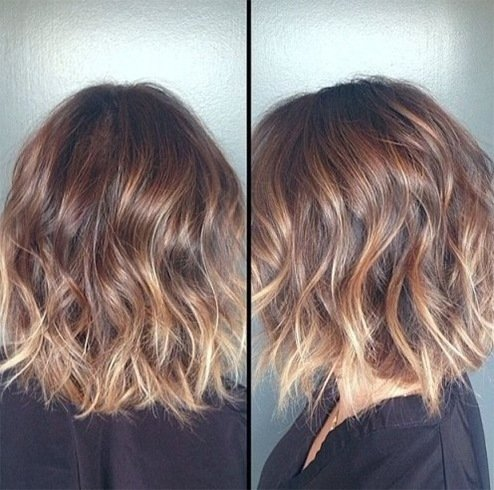 Hottest ombre hairstyle