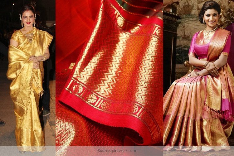 Make Your Bridal Trousseau Look Rich With Kanchipuram