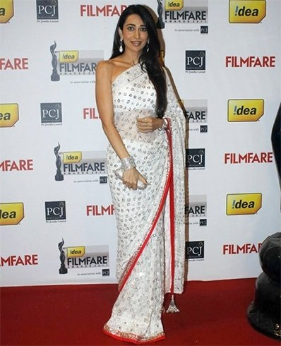 Karisma Kapoor in Manish-malhotra Saree