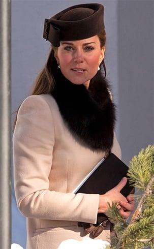 Kate Middleton Fur stoles