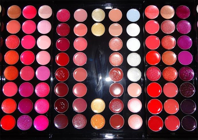 Lipstick palette tutorial