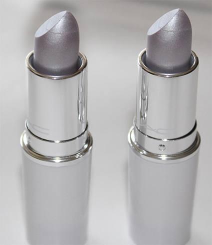 MAC Silver lipstick