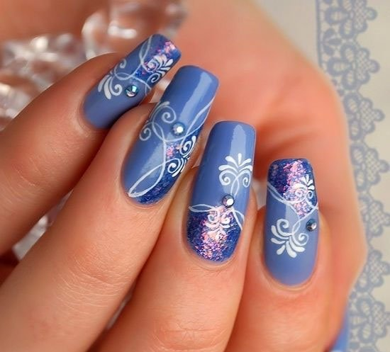 Nail Polish Designs Block Pattern