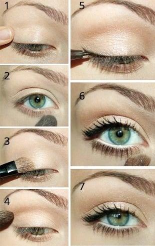 Natural Makeup Look For Brown Skin