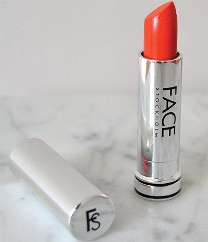 Orange lipsticks shades