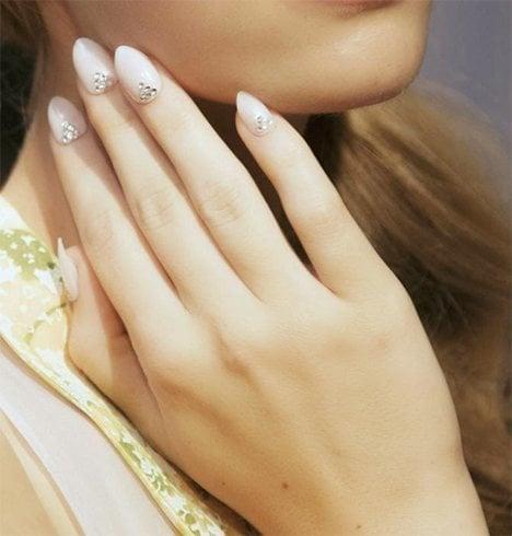 Oval shaped nails - Trend Alert: Bespoke Almond Shaped Nails