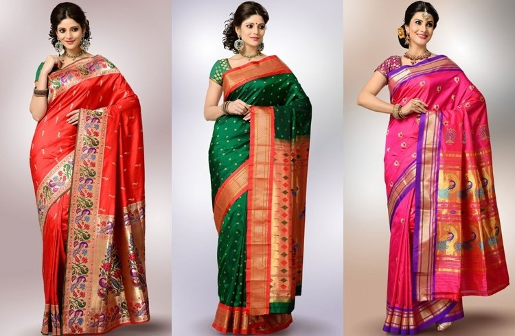 Zardosi Sarees for wedding
