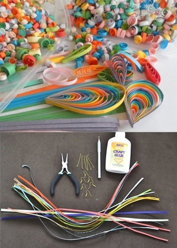 Paper Quilling Jewellery How To Make Jewellery By Quilling