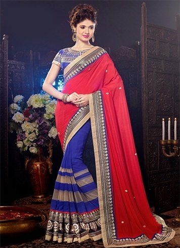 The Latest Trends In Farewell Party Sarees