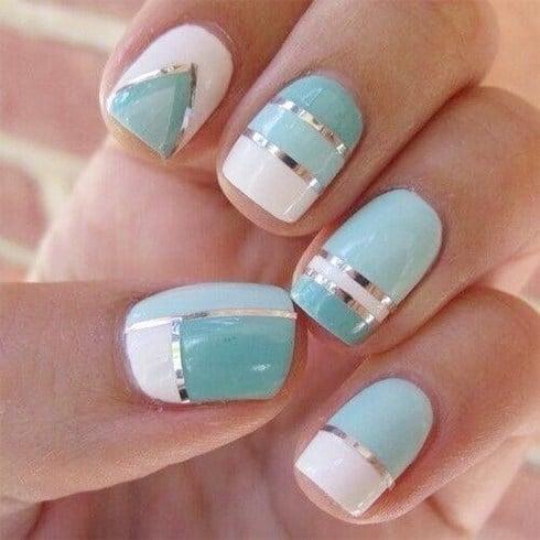 Pastel Nail Pattern