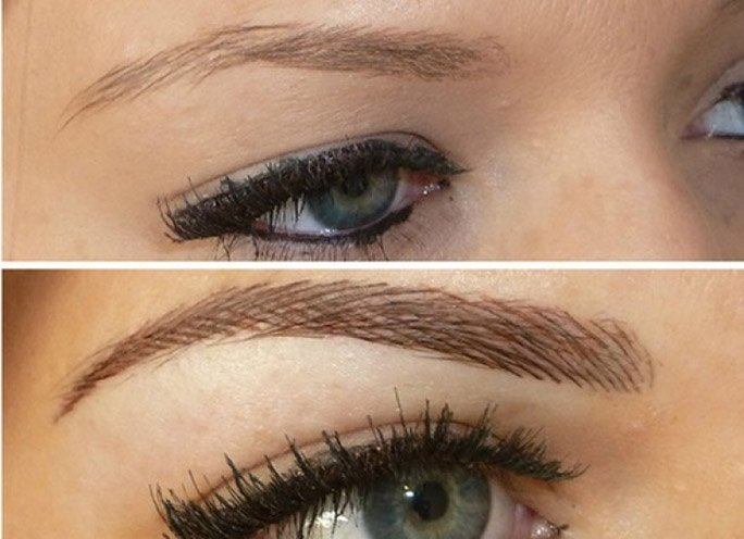 permanent makeup for Eye