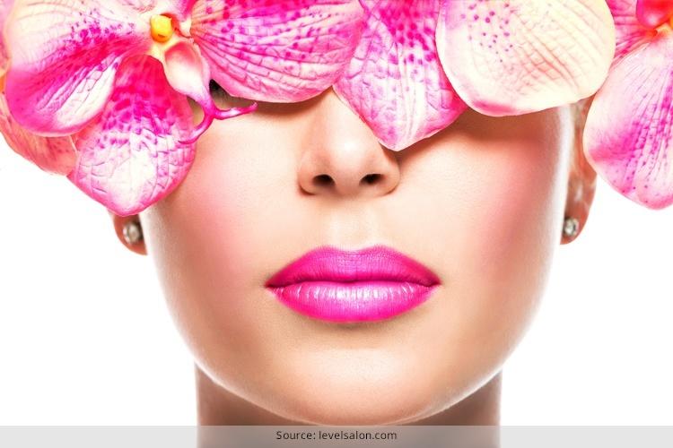 Pink Lipstick Makeup