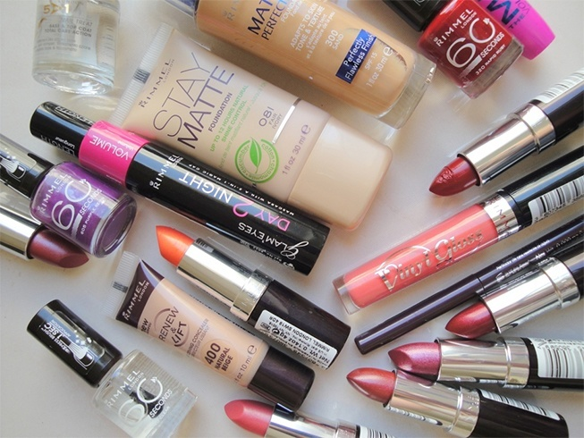 Rimmel makeup for less
