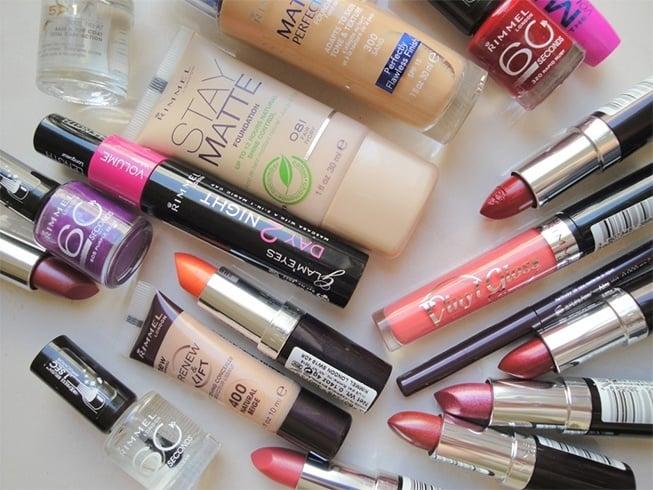 Rimmel makeup for less