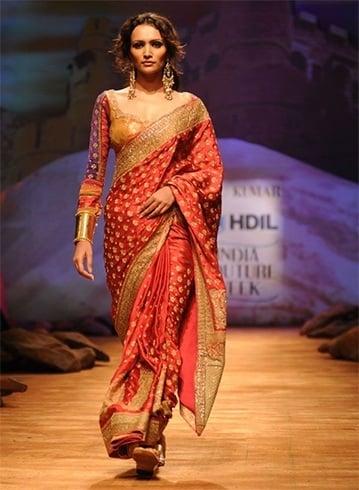 Ritu Kumar saree designs