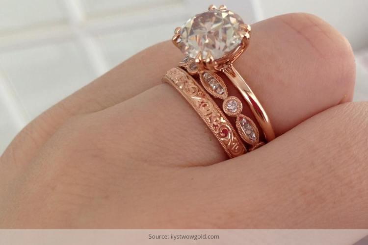 Rose Gold Ring Designs