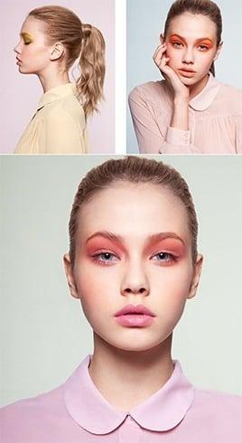 Runway makeup for parties