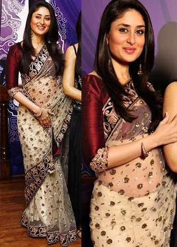 Sarees worn by kareena kapoor