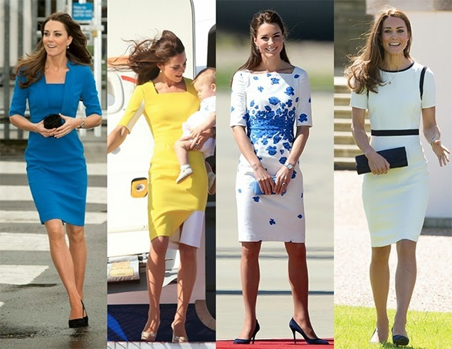 Sheath dress or patterned dresses
