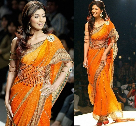 Shilpa Shetty in Tarun Tahiliani Saree