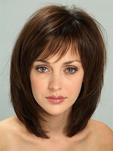 Shoulder length haircut