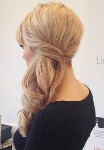 Side hairdo hairstyle