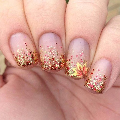 Glitter Nails Ideas