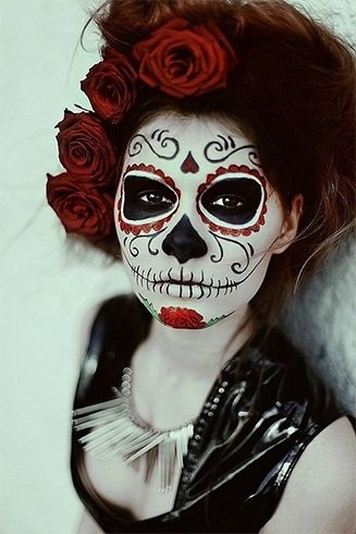 Makeup Sugar Skull Ideas for Women
