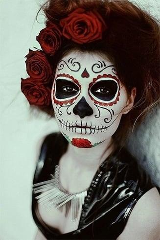 Makeup Sugar Skull Ideas for Women