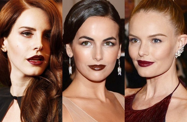 Glossy Brown Lipstick Shades