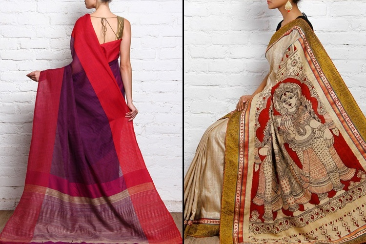 Tussar Types Of Handloom Sarees