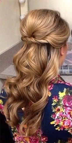 Wavy hairstyles ideas