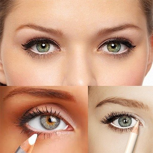 Ways to do makeup for green eyes