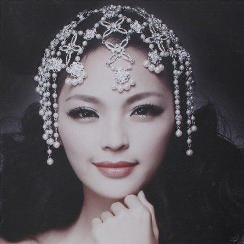 Wedding bridal headpiece