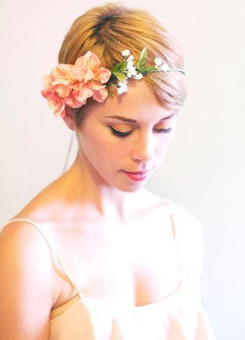 wedding hair wreaths