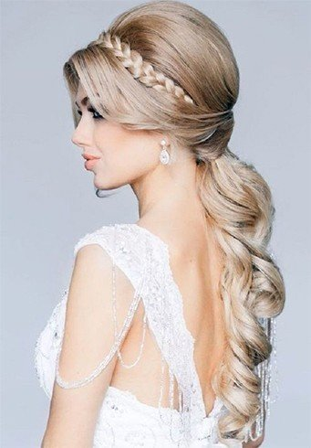 beautiful yet easy bridesmaid hairstyles for long hair