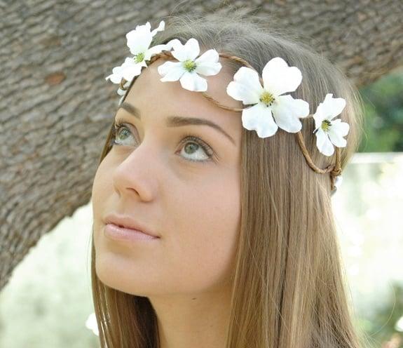 wedding head wreaths