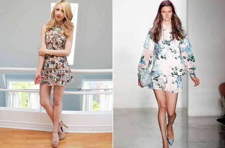 Accessorize A Floral Dress