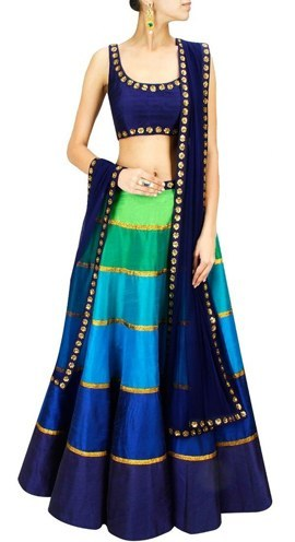 Best chaniya choli patterns