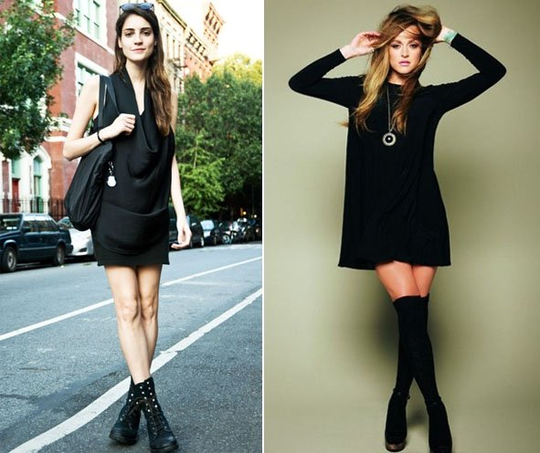 Black Dress Outfits