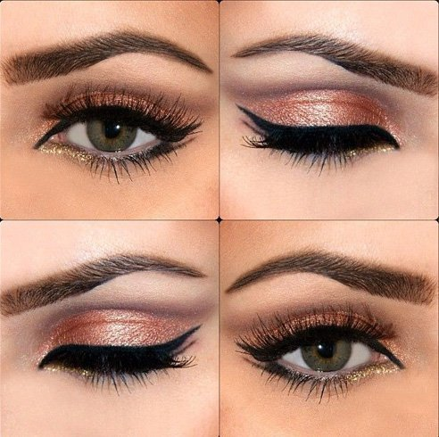 22 Eye Makeup Ideas For Brown Eyes - photo#34