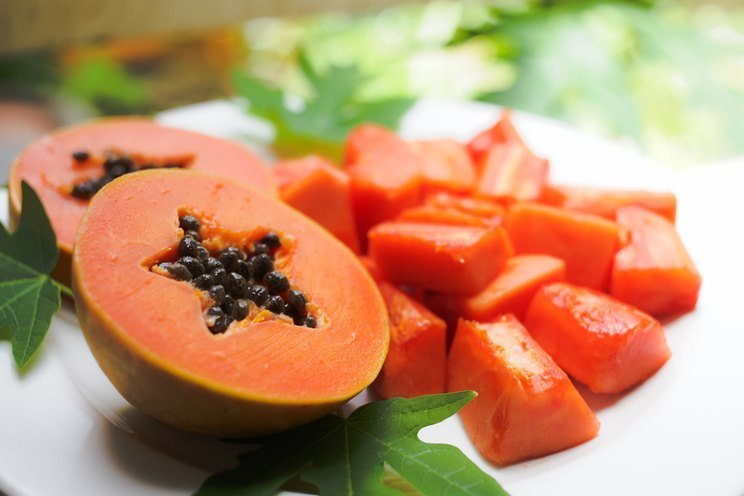 Hair benefits of papaya