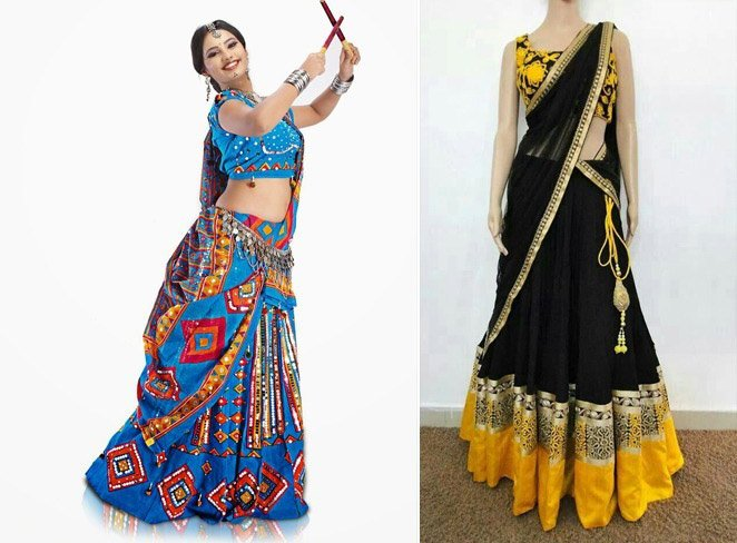 How to Wear Chaniya Choli For Navratri