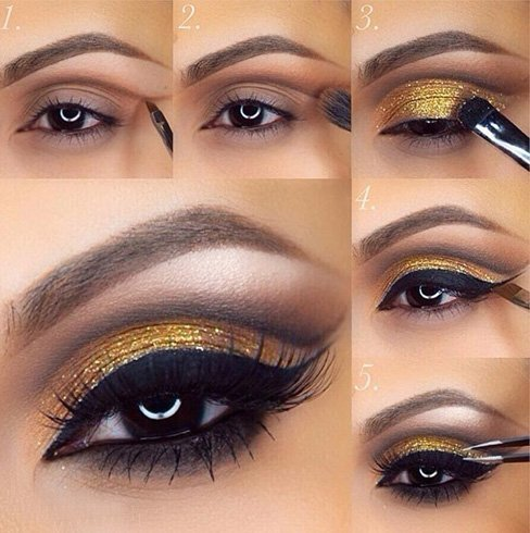 22 Eye Makeup Ideas For Brown Eyes - photo#39