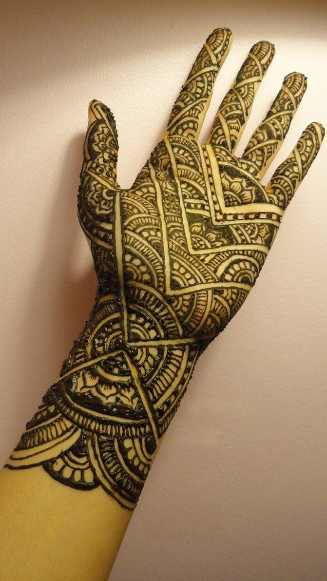 Karva Chauth henna