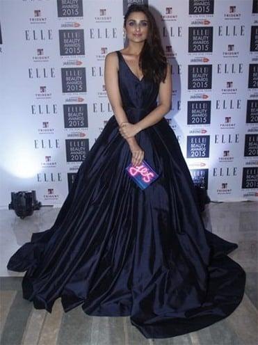 Parineeti Chopra at Elle Beauty awards