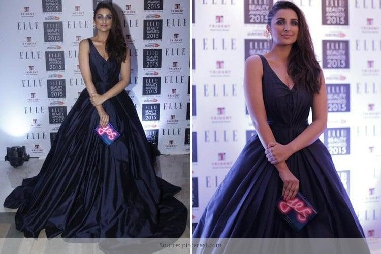 Parineeti Chopra in Manish Malhotra Gown