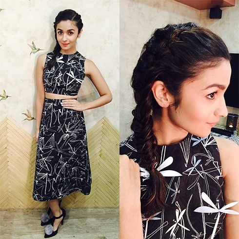 Alia Bhatt in Awake UK dress