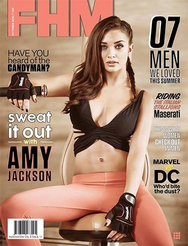 Amy Jackson on FHM October 2015 magazine