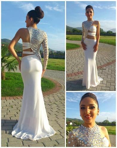 backless Bridal dresses